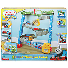 Buy Thomas the Tank Engine Spill and Thrills on Sodor Playset Online at johnlewis.com