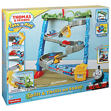 Buy Fisher-Price Thomas & Friends Spills and Thrills on Sodor Train Set Online at johnlewis.com
