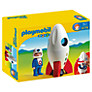 Buy Playmobil 123 Moon Rocket Online at johnlewis.com