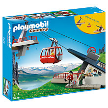 Buy Playmobil Country Cable Car Set Online at johnlewis.com