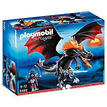 Buy Playmobil Dragons Giant Battle Dragon with LED Fire Online at johnlewis.com