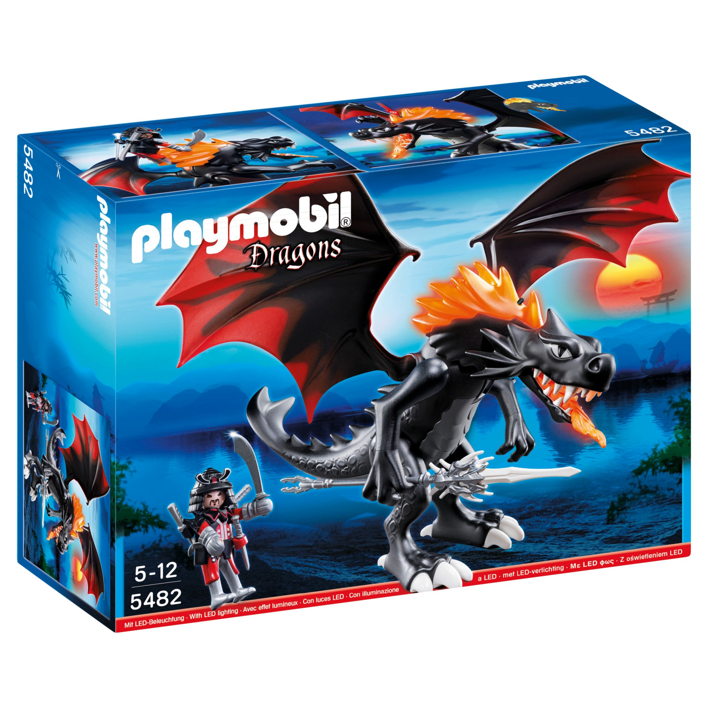 Click here for Playmobil Dragons Giant Battle Dragon with LED Fire