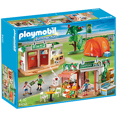 Click here for Playmobil Summer Fun Camp Site