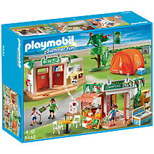 Buy Playmobil Summer Fun Camp Site Online at johnlewis.com