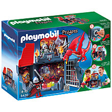 Buy Playmobil My Secret Dragon's Lair Play Box Online at johnlewis.com