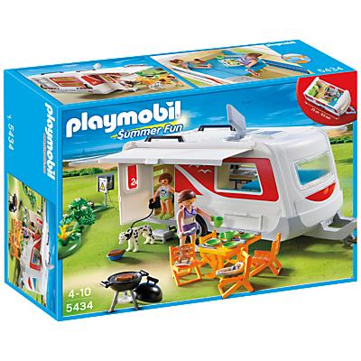 Click here for Playmobil Summer Fun Family Caravan
