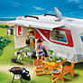 Buy Playmobil Summer Fun Family Caravan Online at johnlewis.com