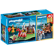Buy Playmobil Knights 40th Anniversary Compact Set Online at johnlewis.com