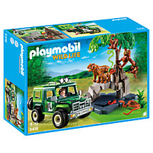 Buy Playmobil Wild Life Jungle Animals Set Online at johnlewis.com