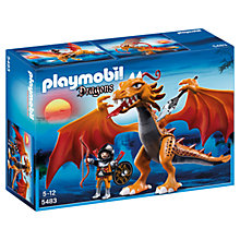 Buy Playmobil Dragons Flame Dragon Online at johnlewis.com