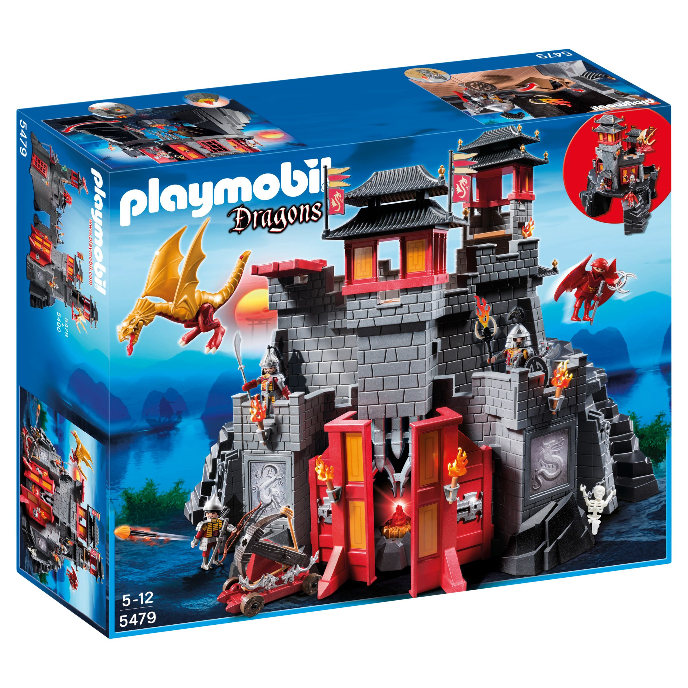 Click here for Playmobil Dragons Great Asian Castle