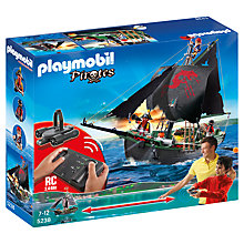 Buy Playmobil Pirate Ship with Motor Online at johnlewis.com