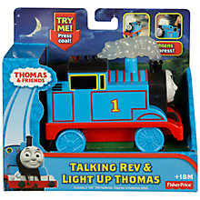 Buy Thomas the Tank Engine Talking Rev and Light Up Figure, Assorted Online at johnlewis.com