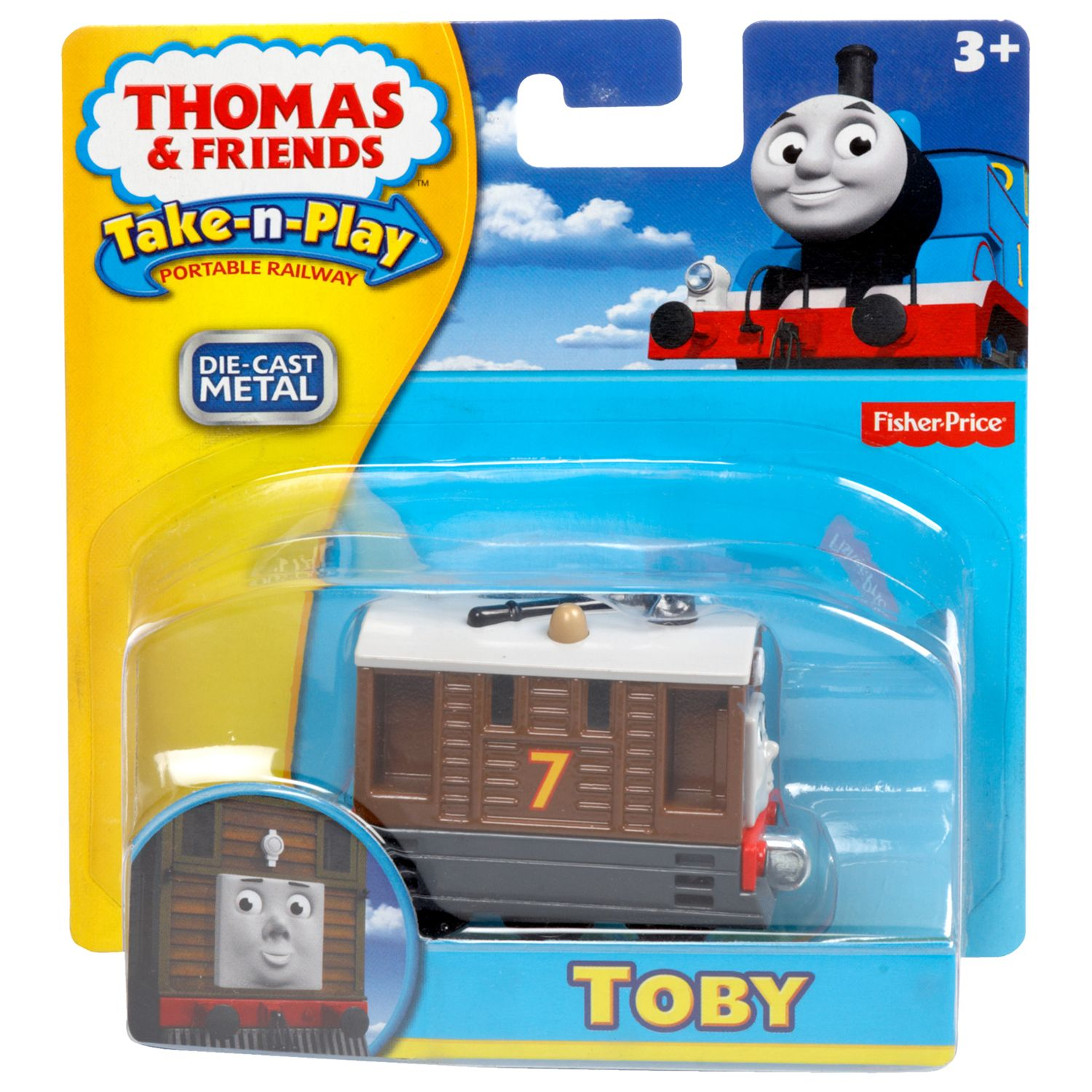 Thomas the Tank Engine Fisher-Price Thomas & Friends Take-n-Play Engine, Assorted
