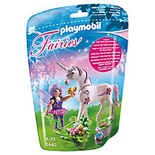 Buy Playmobil Food Fairy with Unicorn Gift Egg Online at johnlewis.com