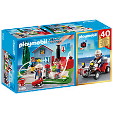 Buy Playmobil City Action Fire 40th Anniversary Compact Set Online at johnlewis.com
