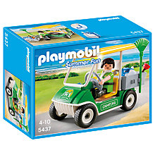 Buy Playmobil Summer Fun Camping Service Cart Online at johnlewis.com