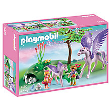 Buy Playmobil Princess Royal Children & Pegasus Online at johnlewis.com