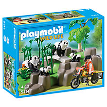 Buy Playmobil Wild Life Pandas In Bamboo Forest Online at johnlewis.com