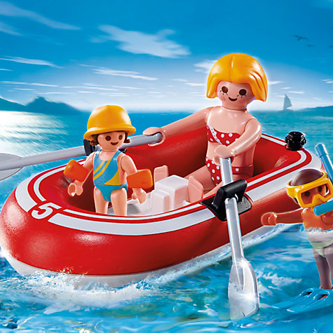 Buy Playmobil Summer Fun Swimmers with Dinghy Online at johnlewis.com