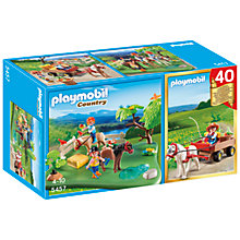 Buy Playmobil Country Pony 40th Anniversary Compact Set Online at johnlewis.com