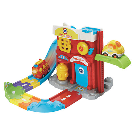 Buy VTech Toot Toot Drivers Fire Station Online at johnlewis.com