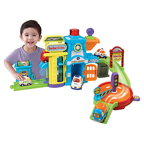 Buy VTech Toot Toot Drivers Police Station Online at johnlewis.com