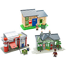 Buy Postman Pat Mini Building, Assorted Online at johnlewis.com