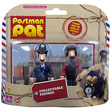 Buy Postman Pat Collectable Figures, Pack of 2, Assorted Online at johnlewis.com