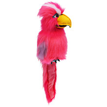Buy The Puppet Company Galah Bird, Large Online at johnlewis.com