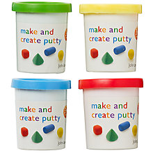 Buy John Lewis Make & Create Putty, 4 Colours Online at johnlewis.com
