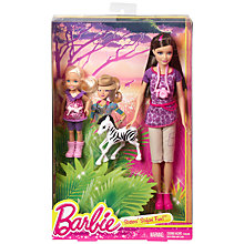 Buy Barbie Sister Safari Fun, Pack of 2, Assorted Online at johnlewis.com