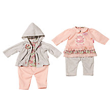 Buy Zapf Baby Annabell Outfit with Hanger, Assorted Online at johnlewis.com