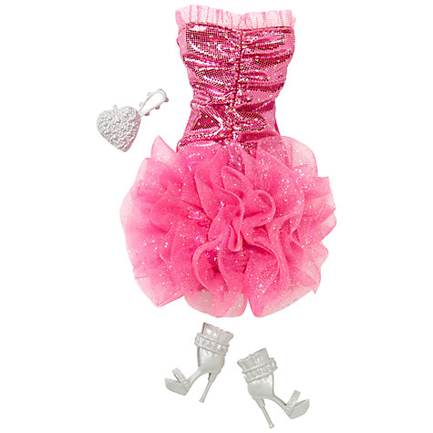 Buy Barbie Fashion Gown, Assorted Online at johnlewis.com