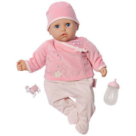 Buy Baby Annabell Let's Play Doll Online at johnlewis.com
