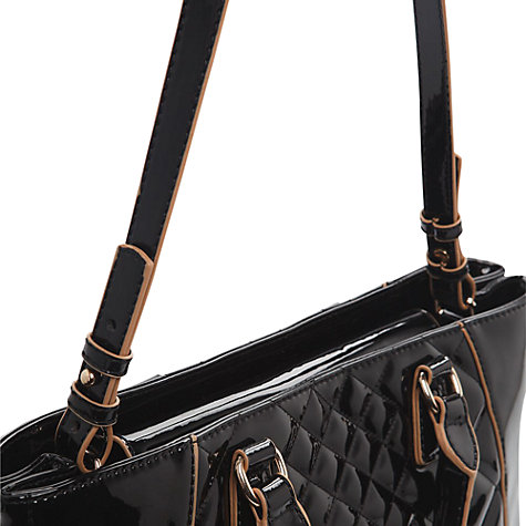 Buy Mango Quilted Patent Tote Handbag Online at johnlewis.com