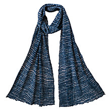 Buy East Yoko Bubble Scarf, Indigo Online at johnlewis.com