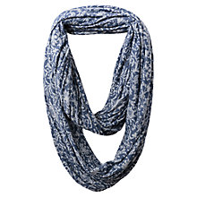 Buy East Floral Burnout Snood, Indigo Online at johnlewis.com