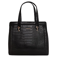 Buy Mango Croc Effect Tote Handbag Online at johnlewis.com