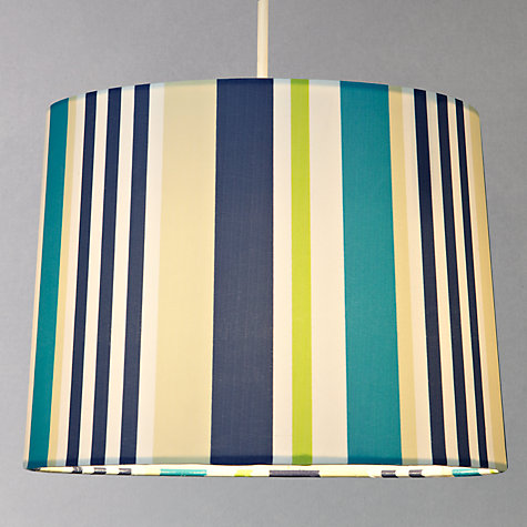 Buy little home at John Lewis Easy-to-fit Striped Ceiling Pendant Shade Online at johnlewis.com