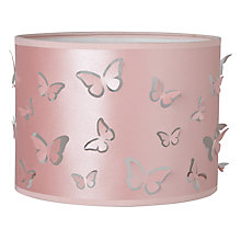 Buy little home at John Lewis Little Fairy Easy-to-fit Butterflies Ceiling Pendant Shade Online at johnlewis.com