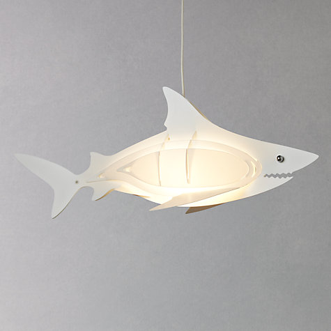 Buy little home at John Lewis Easy-to-fit Shark Ceiling Pendant Shade Online at johnlewis.com
