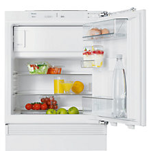 Buy Miele K9124 Ui Integrated Undercounter Fridge with Freezer Compartment, A++ Energy Rating, 60cm Wide Online at johnlewis.com