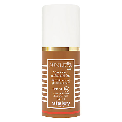 Buy Sisley Sunleya Age Minimizing Global Suncare SPF30, 50ml Online at johnlewis.com