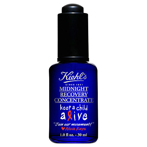 Buy Kiehl's Midnight Recovery Concentrate - Alicia Keys Limited Edition 30ml Online at johnlewis.com