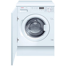 Buy Bosch WIS28440GB Integrated Washing Machine, 7kg Load, A+ Energy Rating, 1400rpm Spin Online at johnlewis.com
