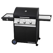 Buy Cadac Meridan 3 Burner Barbecue Online at johnlewis.com