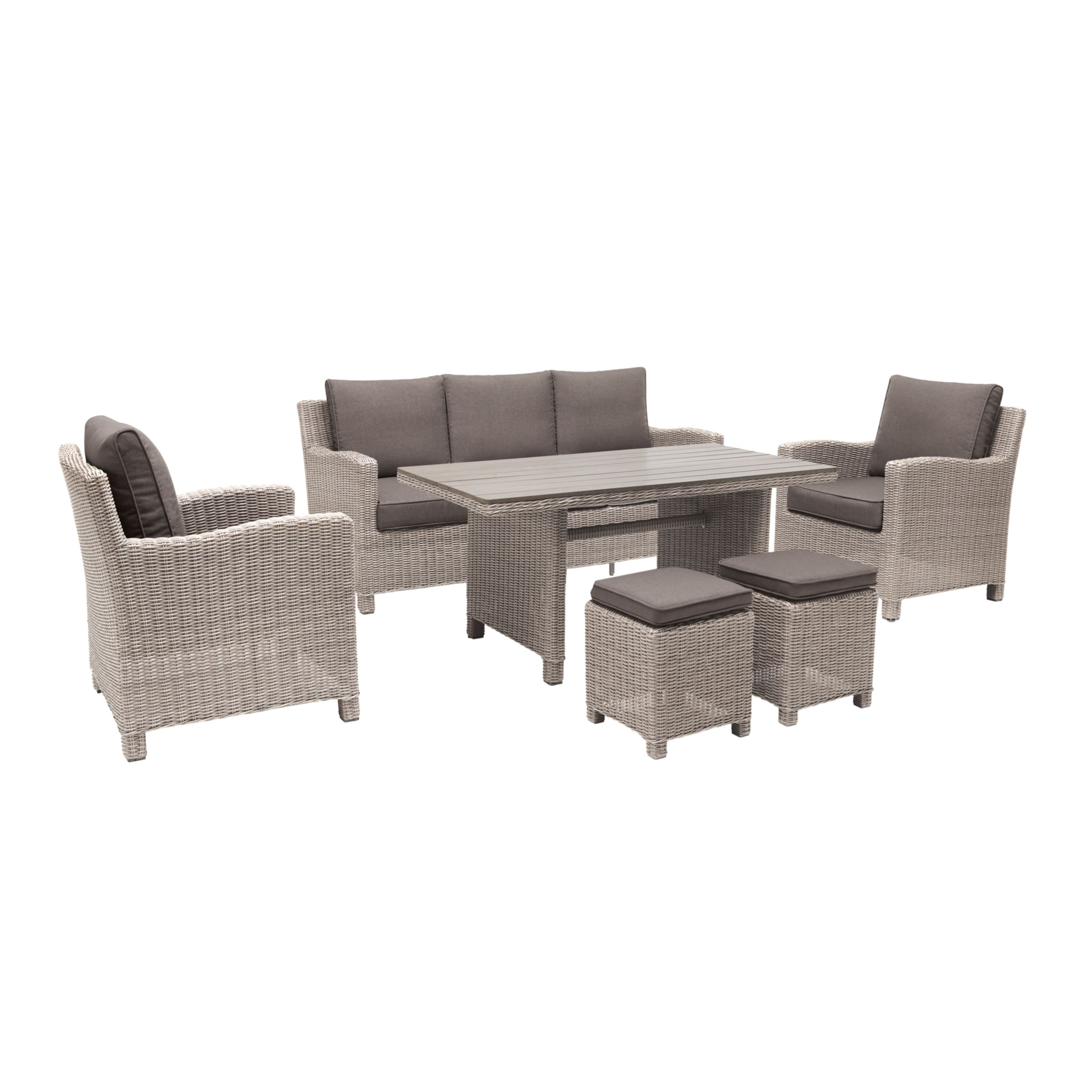 Kettle Palma Lounge Set, Rattan