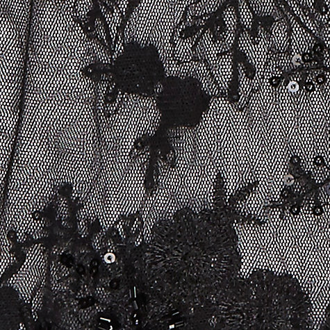Buy Jacques Vert Beaded Scarf, Black Online at johnlewis.com