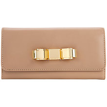 Buy Ted Baker Bestuck Slim Leather Matinee Purse Online at johnlewis.com